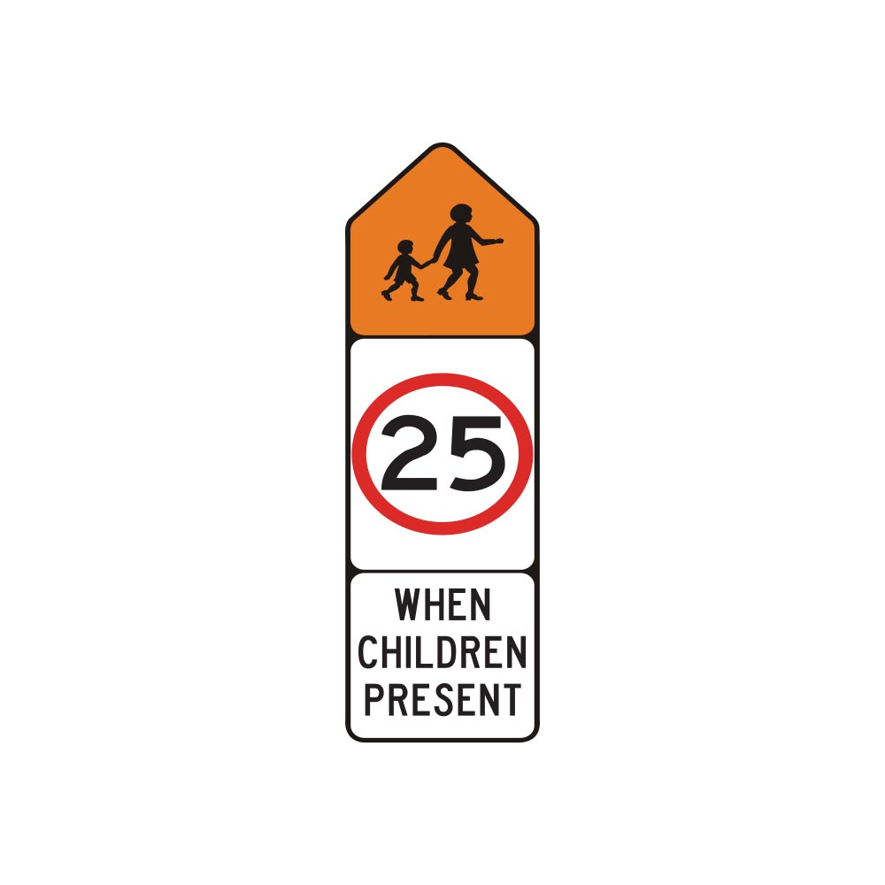 School Zone When Children Present