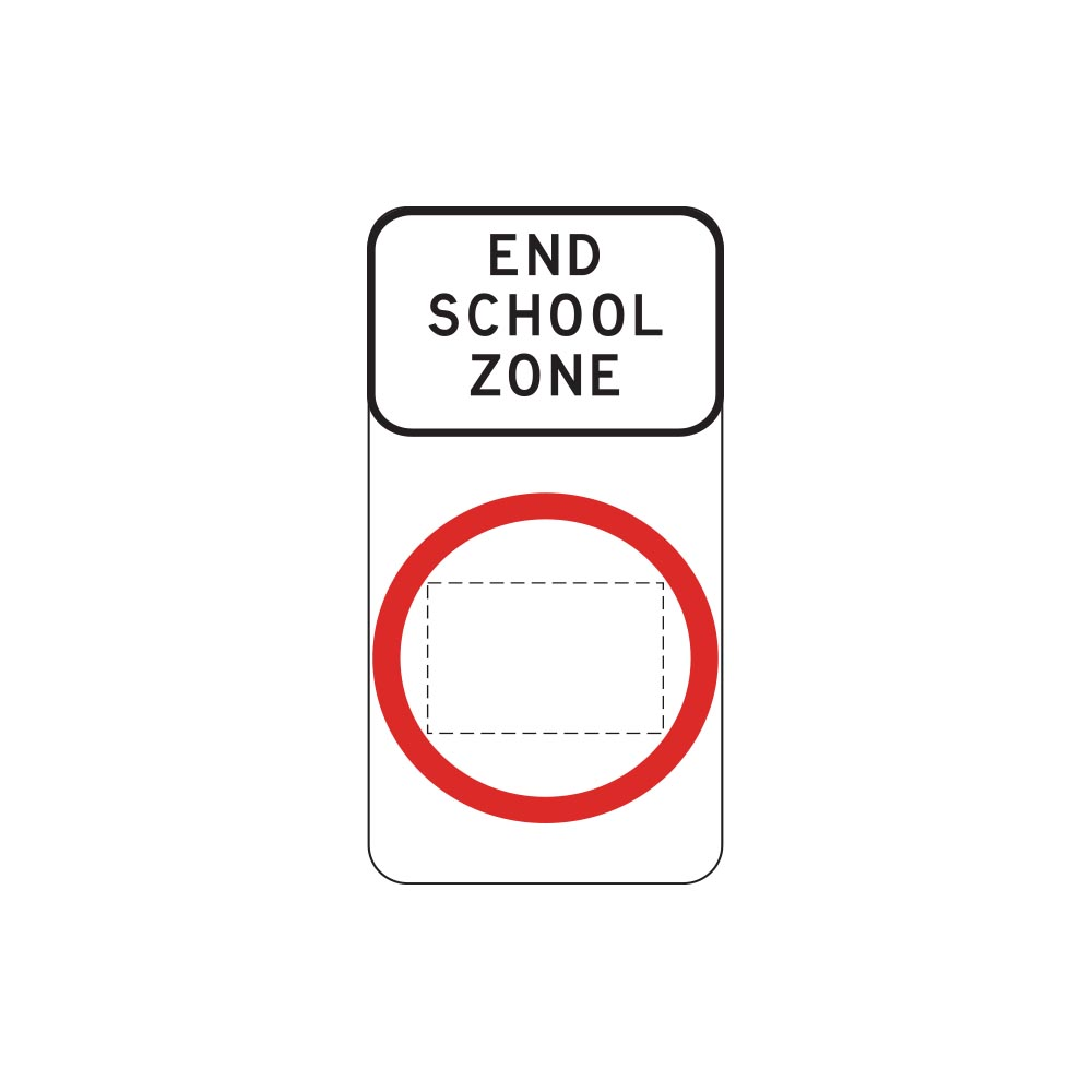 End School Zone Speed Limit
