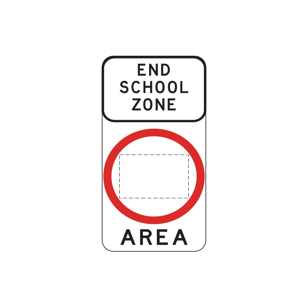 End School Zone Area