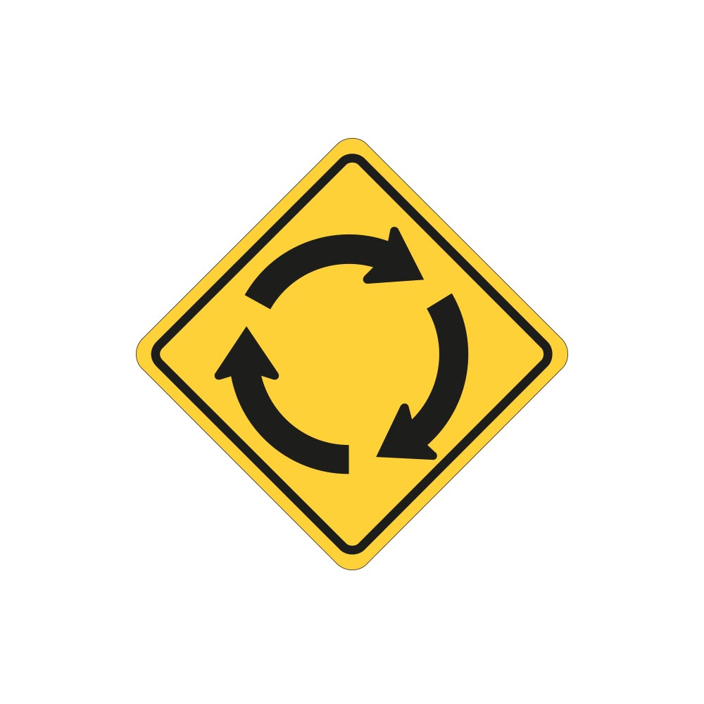 Roundabout Ahead