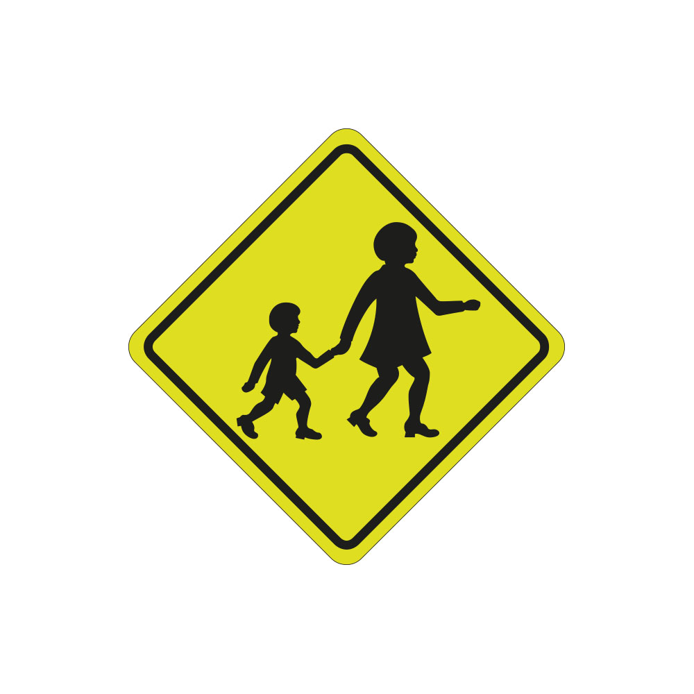 Children Crossing Left or Right