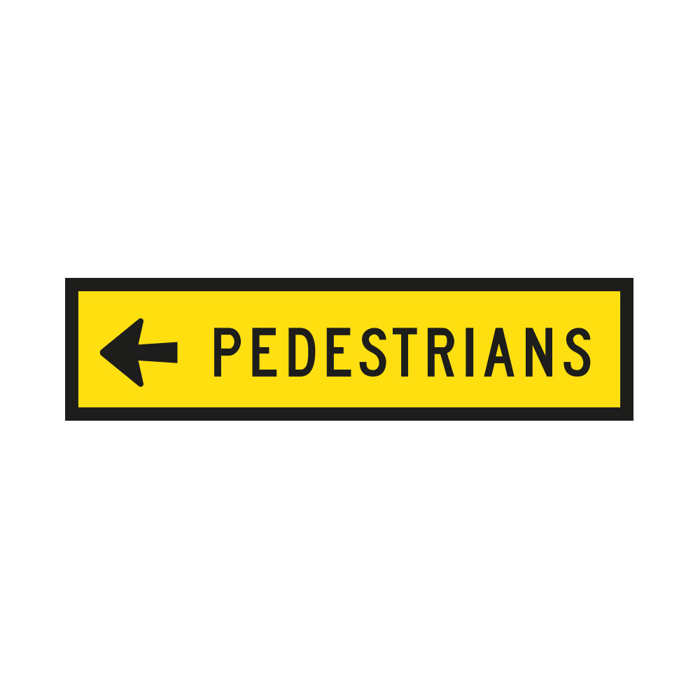 Pedestrians Left or Right