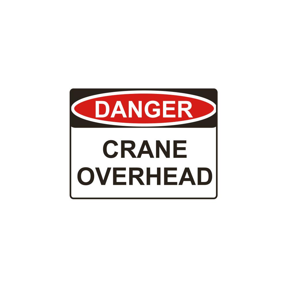 Danger Crane Overhead