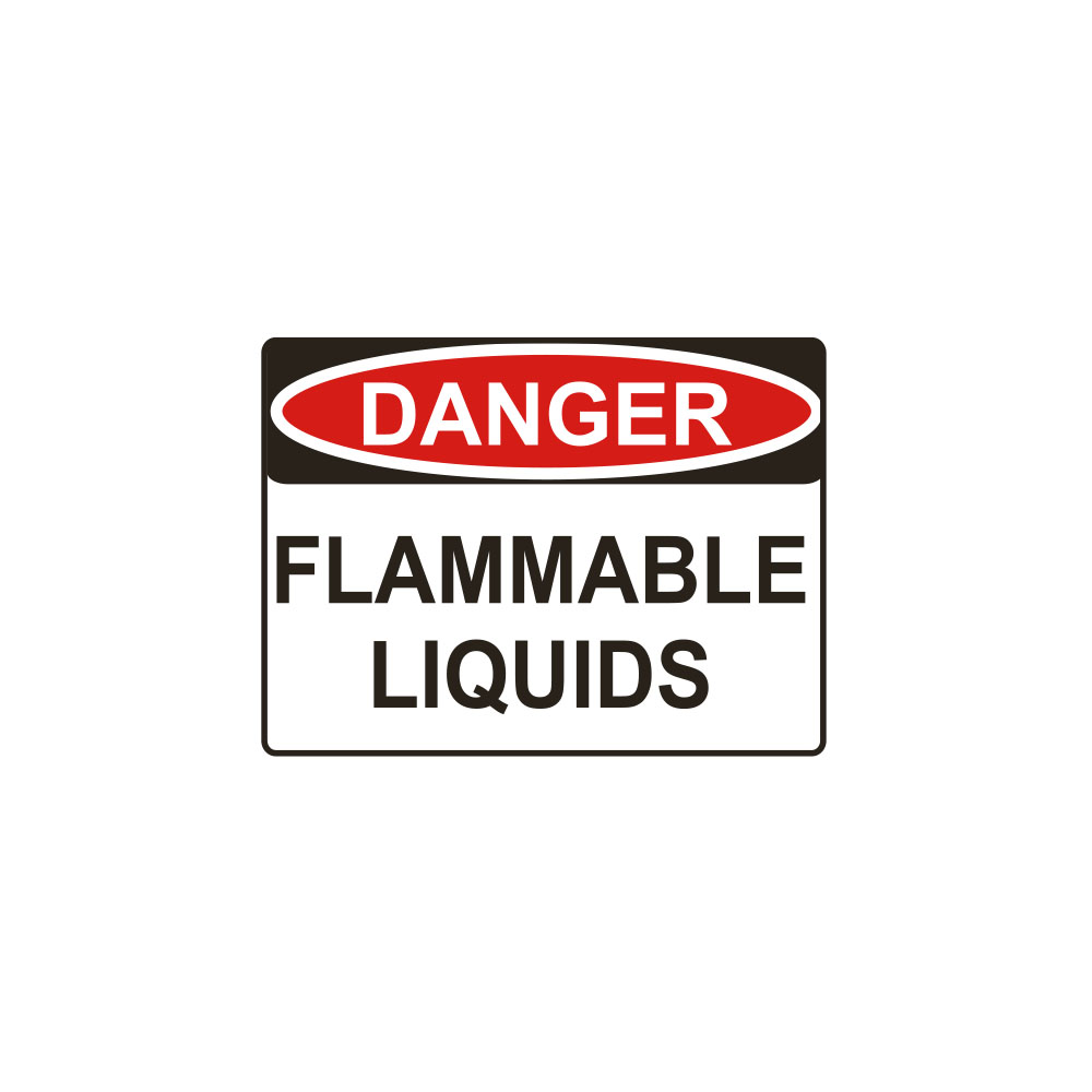 Danger Flammable Liquids