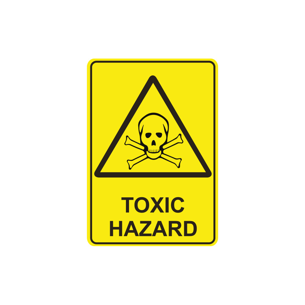 Warning Toxic Hazard
