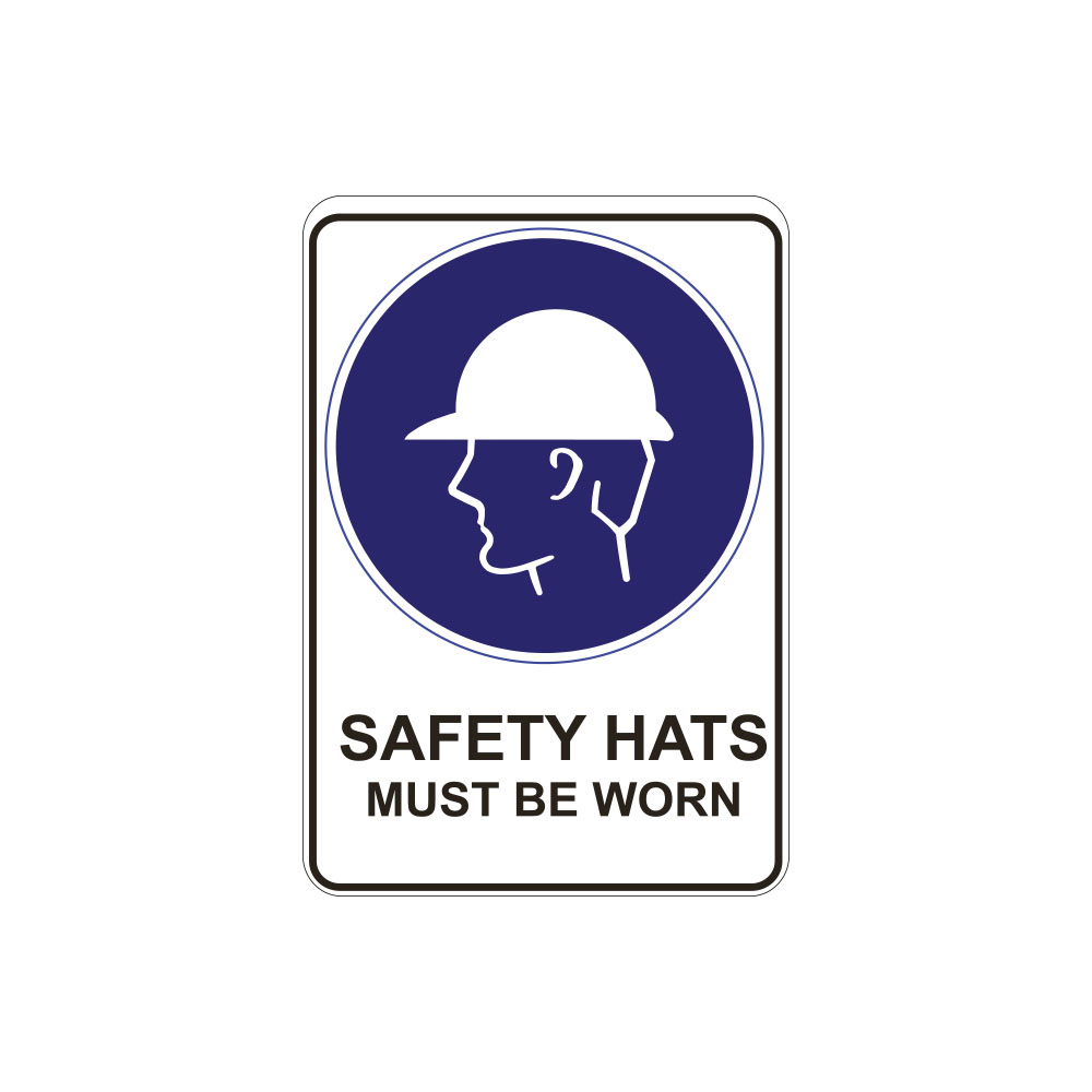 Safety Hats Must Be Worn