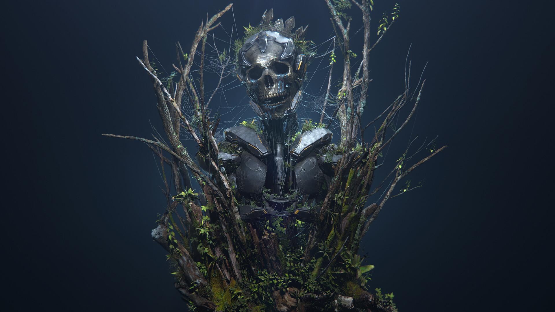 Golden Skull v2