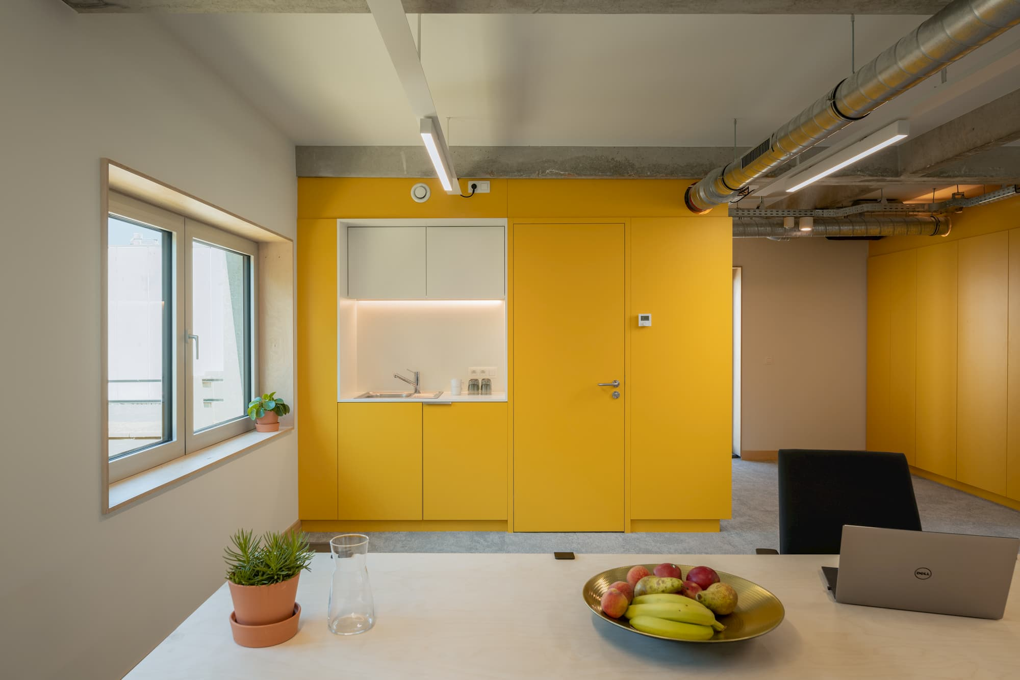 SAM (Smart adaptive module) from Bao Living – Yellow colour Funky SAM at VUB campus