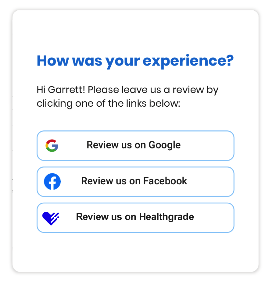 Dental marketing, patient reviews