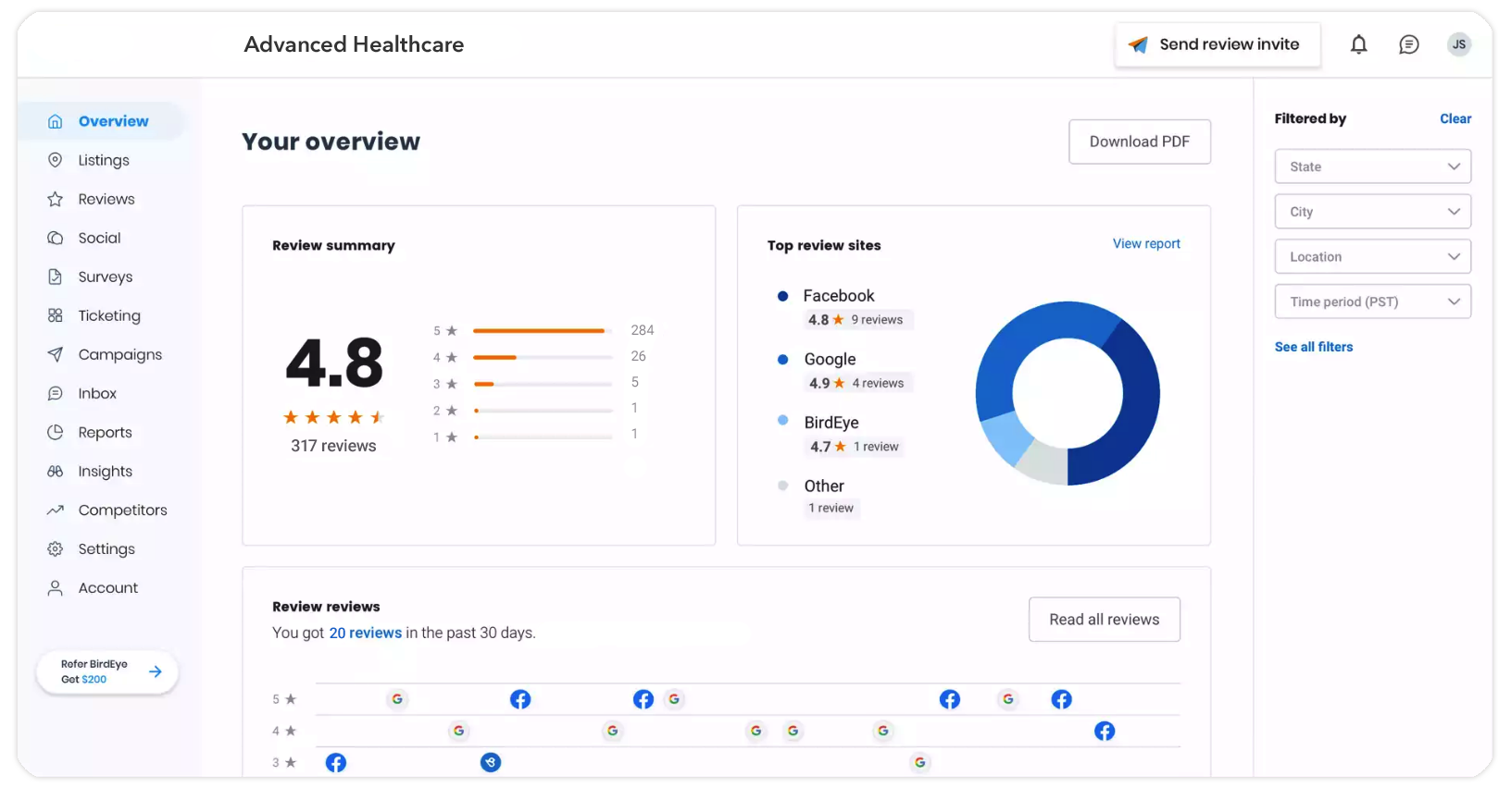 Healthcare patient engagement platform