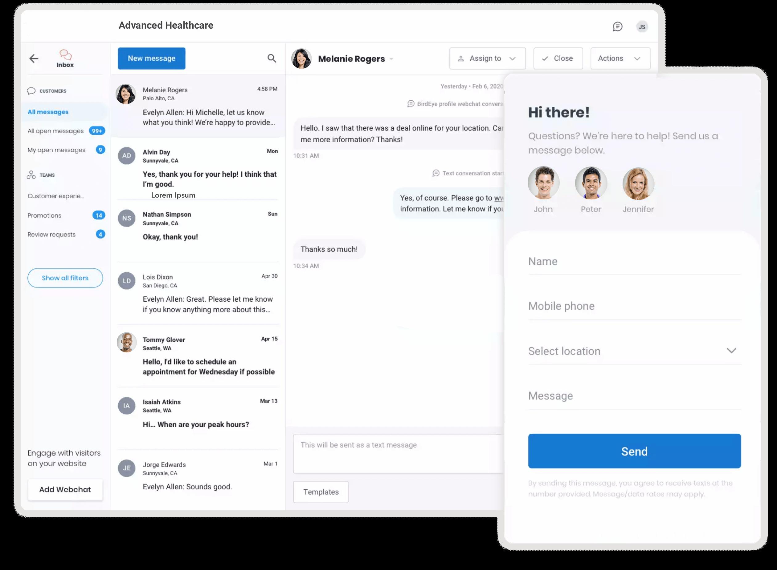 Healthcare patient engagement platform