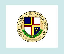 Pope John Paul II High School Logo
