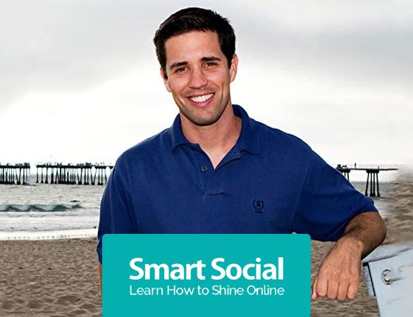 Josh Ochs with Smart Social Logo