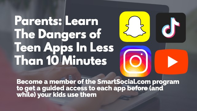 Parents: Learn the dangers of teen apps in less than 10 minutes