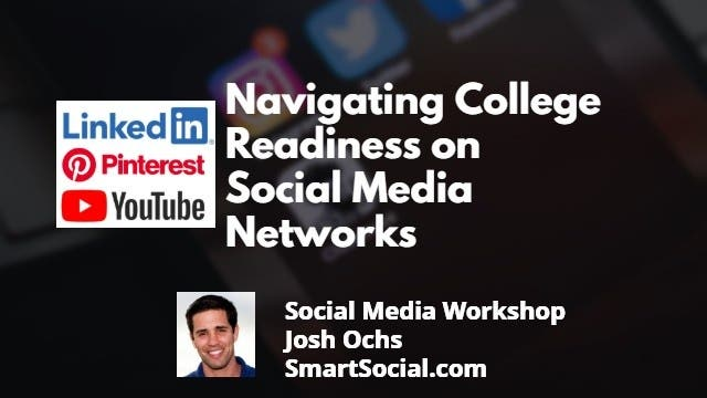 Navigating College Readiness on Social Media