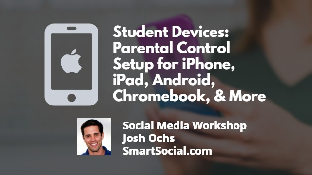 Student Devices How to set up parental controls