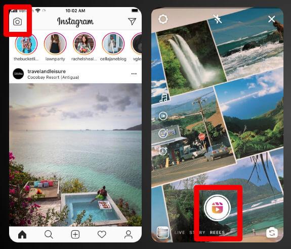 How to Find Instagram Reels screenshot