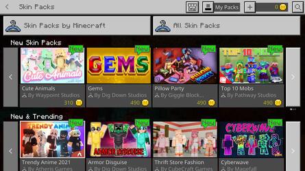 Minecraft Marketplace screenshot