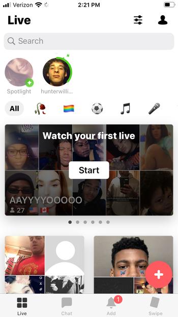Yubo App Guide screen shot