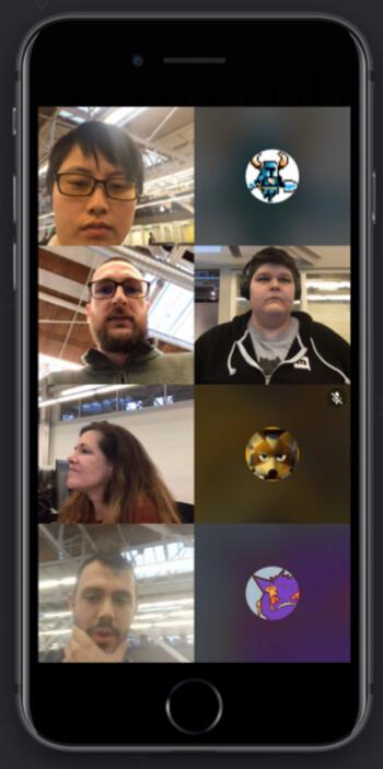 Discord Video Chat screenshot