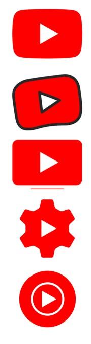 youtube apps logos