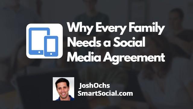 social media agreement