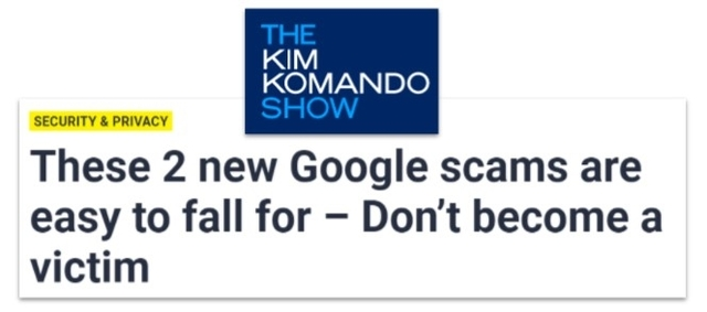 These 2 new Google scams are easy o fall for- Don't become a victim