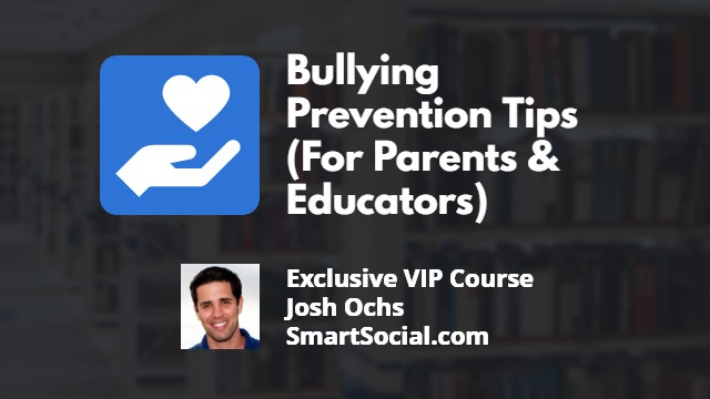 Bullying Prevention Tips (For Parents & Educators)