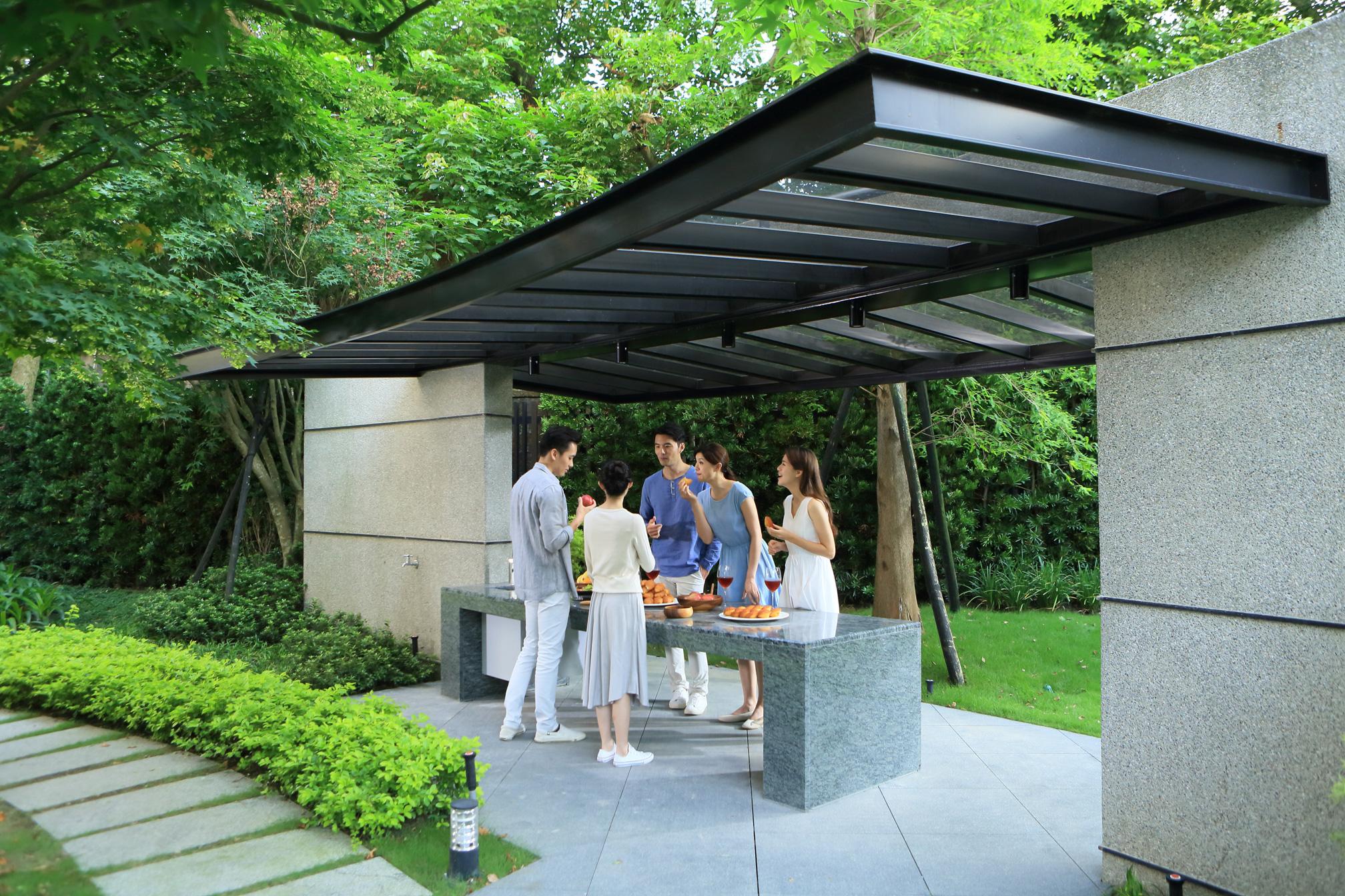 林口惠友雙捷境景觀中庭