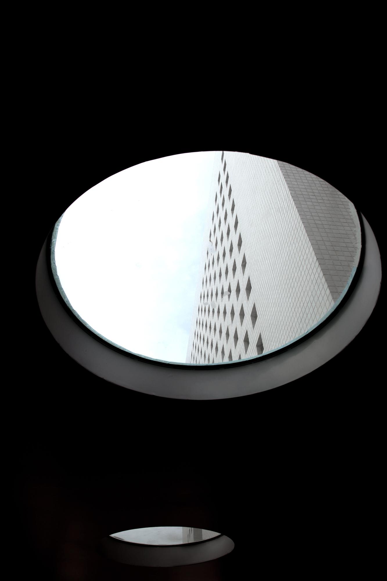 竹北惠友遠見由內向外眺望大樓