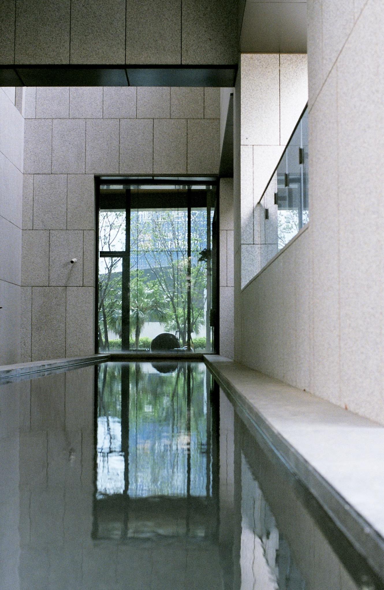 竹北惠友紳中庭水池