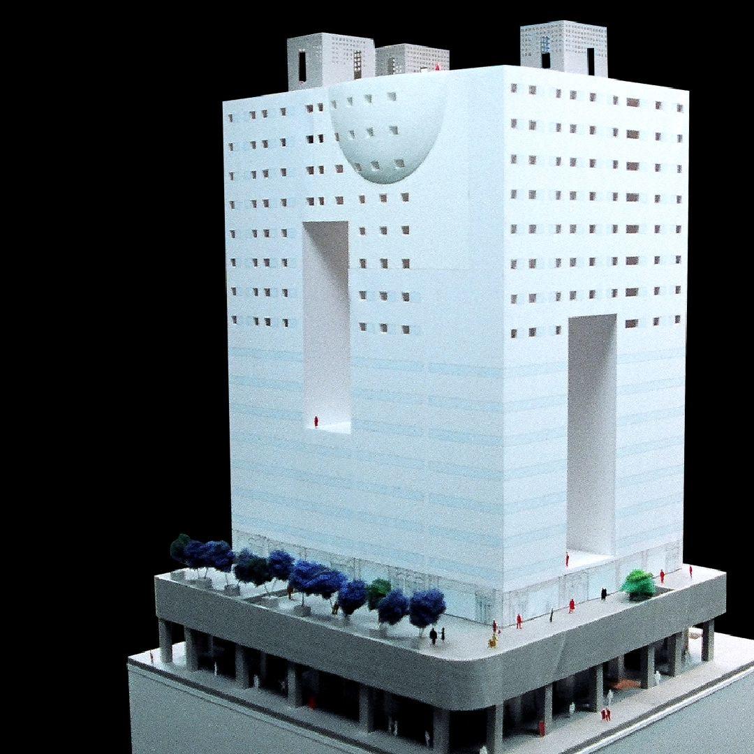 惠友遠見大樓模型