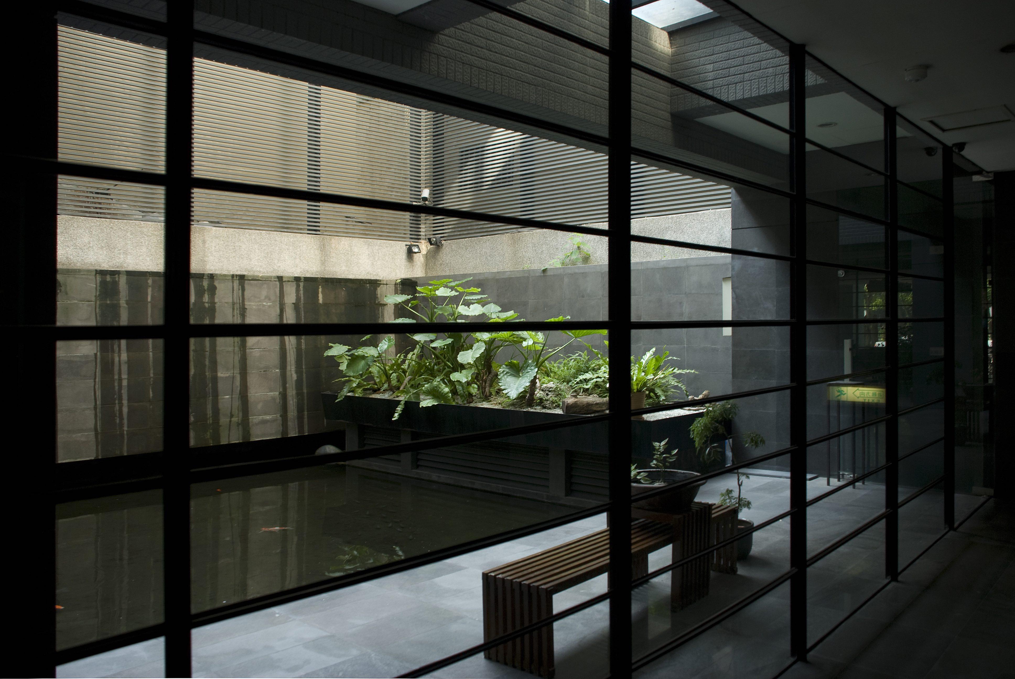 台中興大奇美庭院