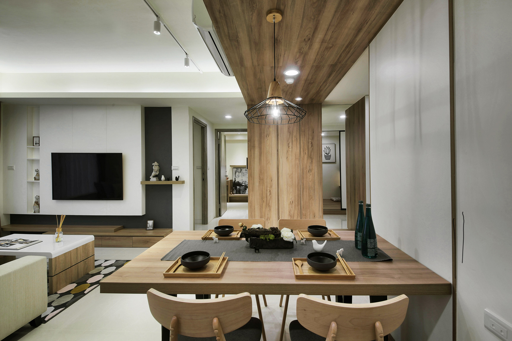 林口惠友新捷境室內空間客廳