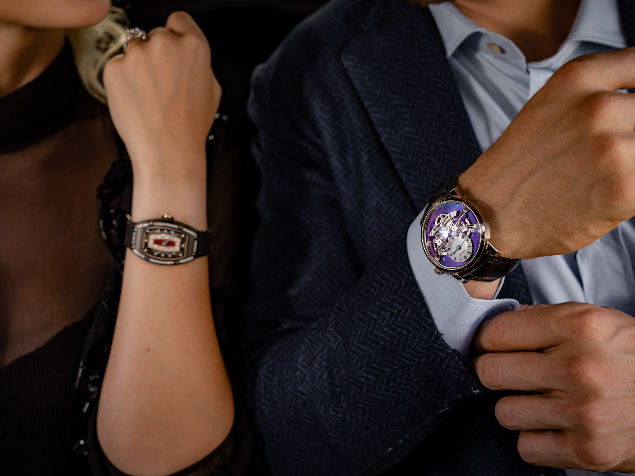 product photography of watches and jewelry