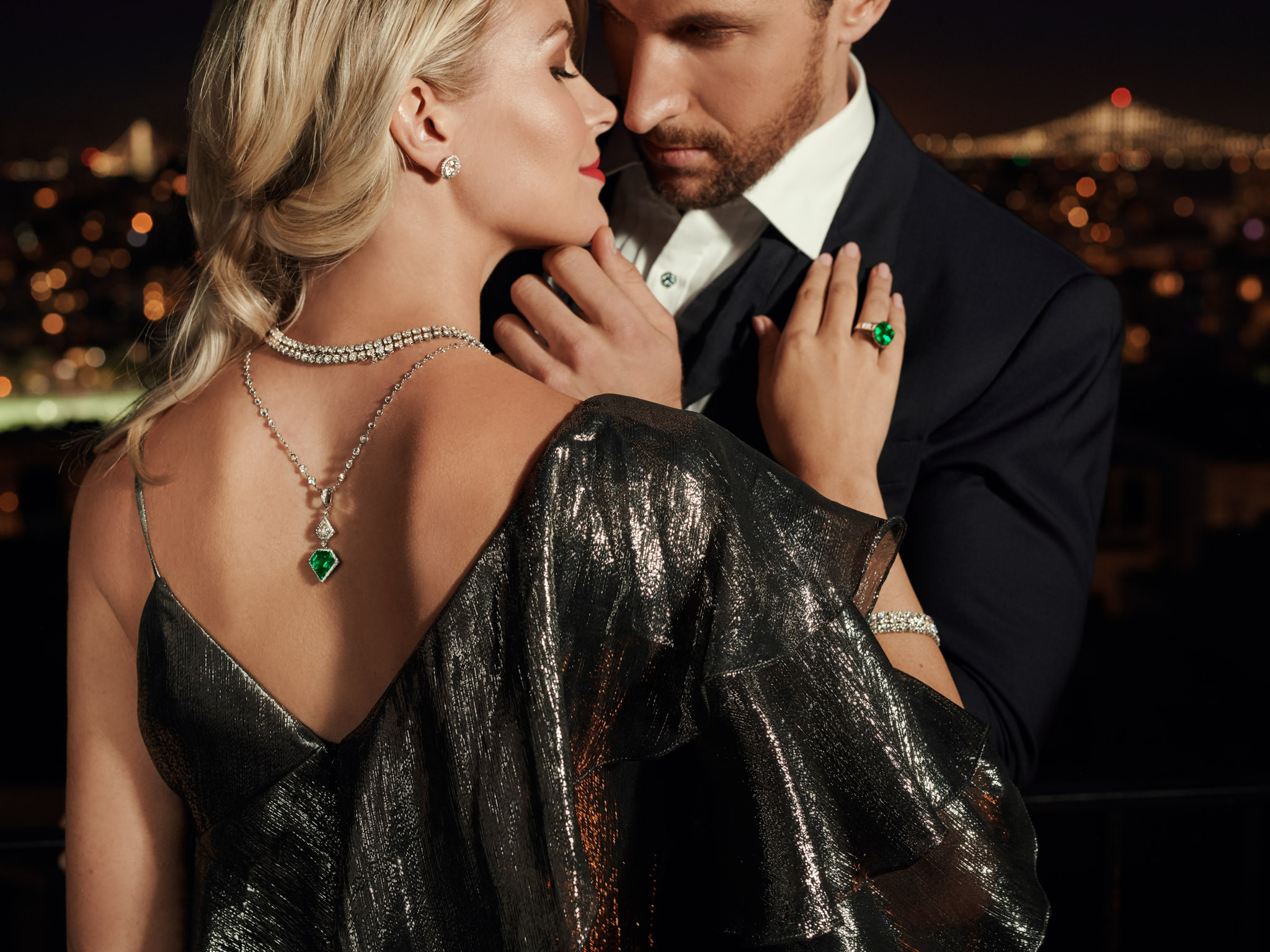 advertisement photoshoot of jewelry in New York
