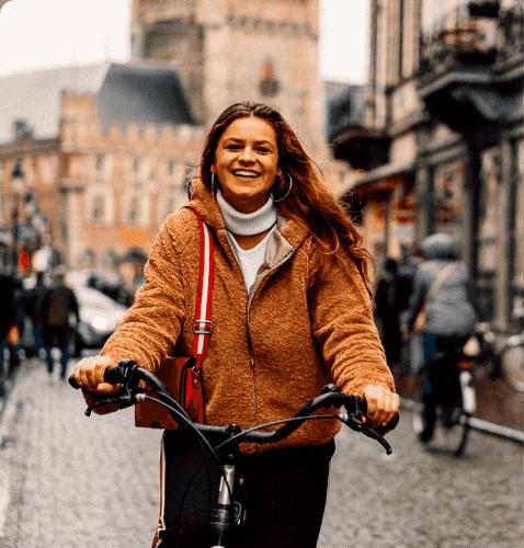 fietsen naar Brugge