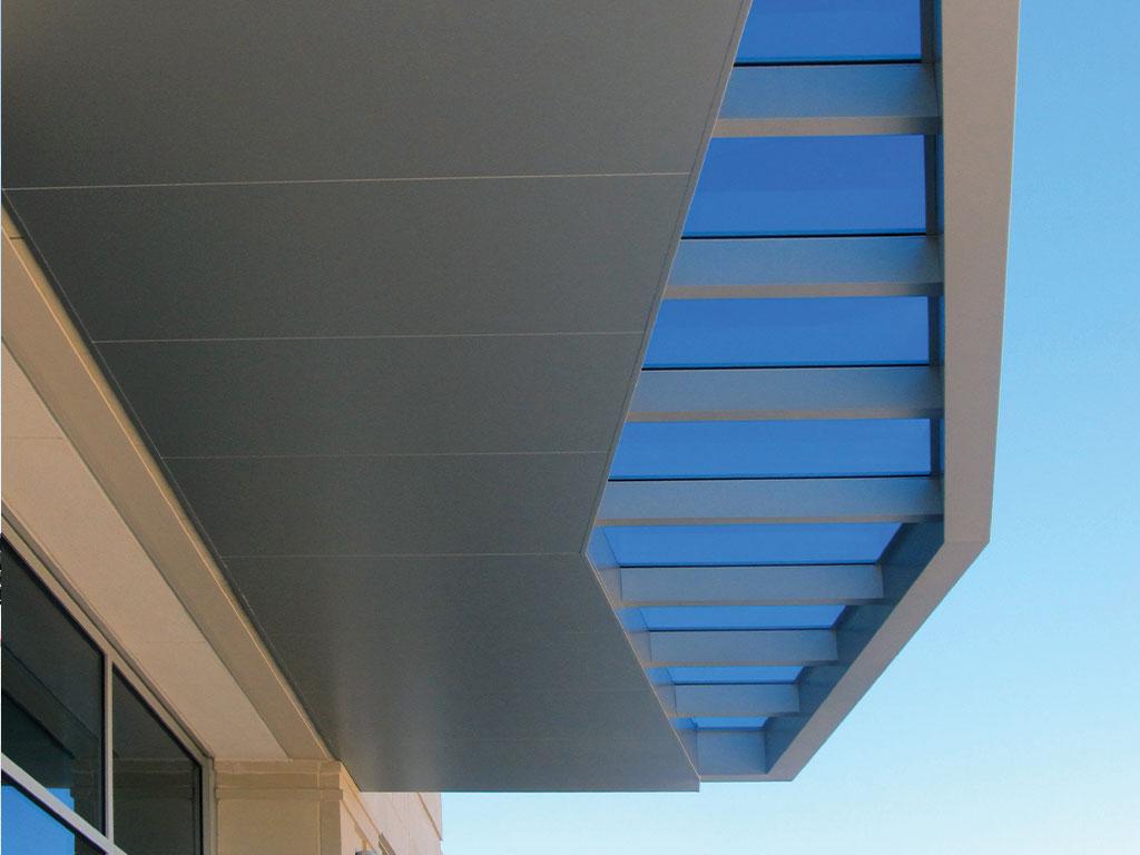 aluminum entry canopy