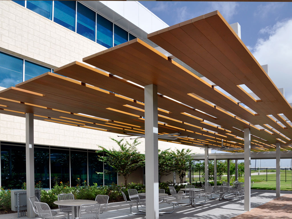 custom aluminum shelter canopy