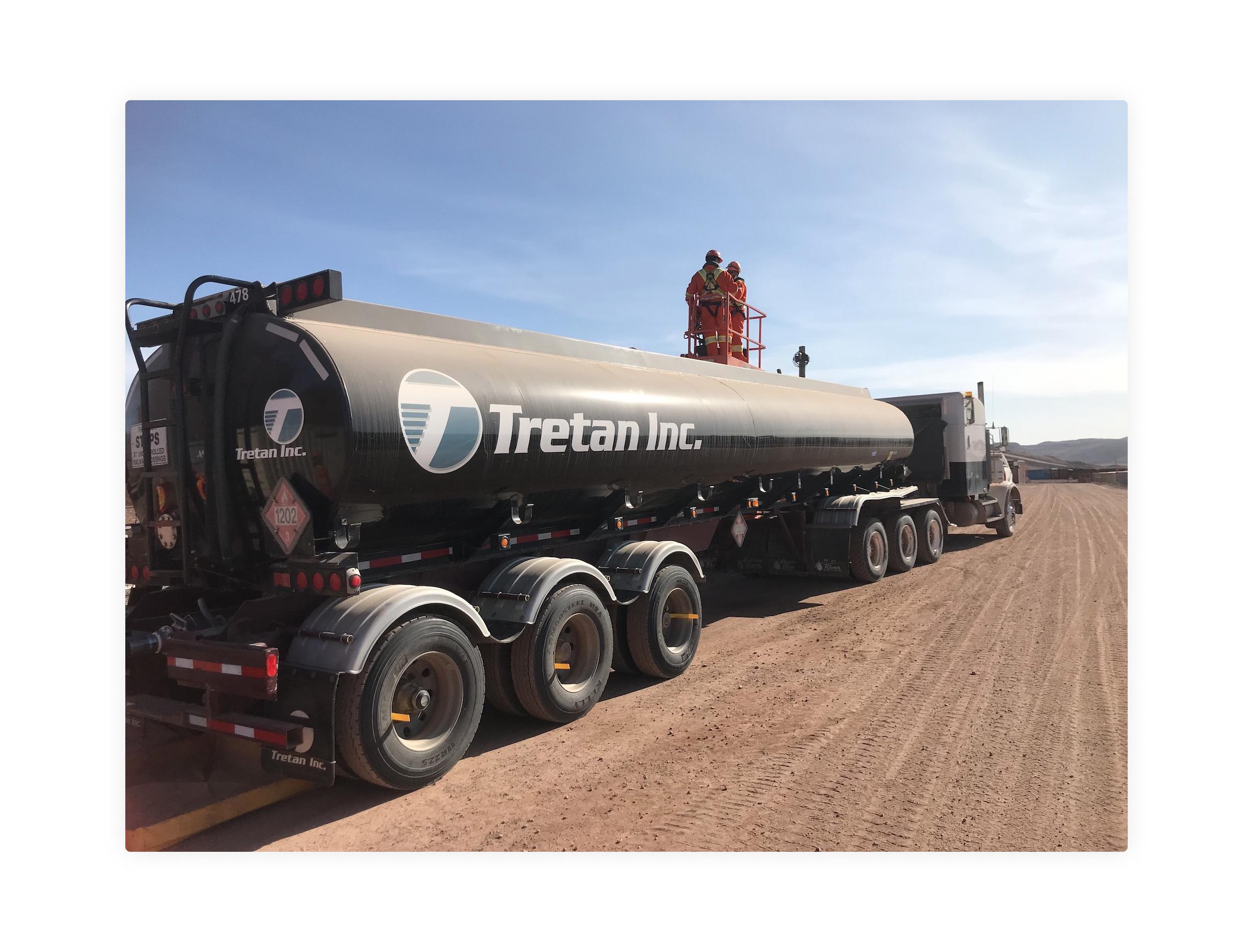 Tretan Tanker Truck