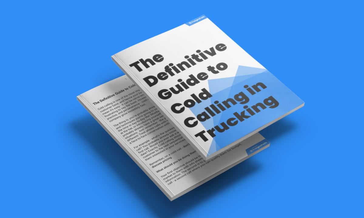 The Definitive Guide To Cold Calling In Trucking