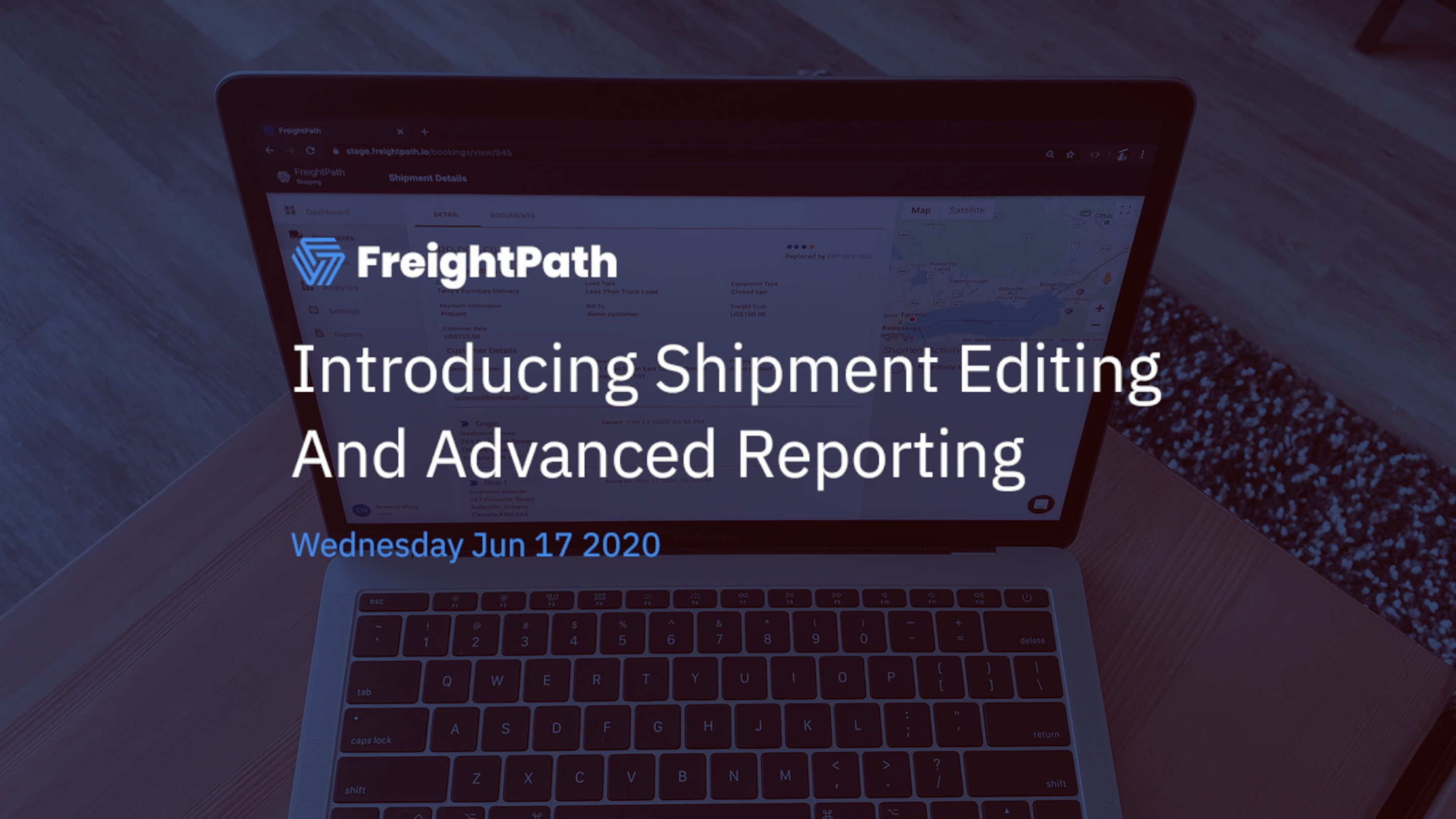 Introducing Shipment Editing and Advanced Reporting in FreightPath