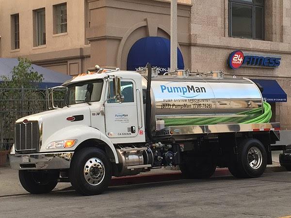 Water Pump Truck