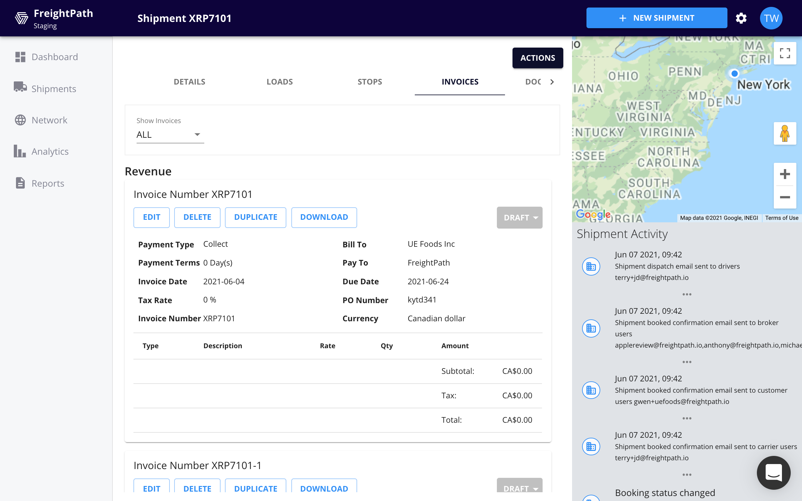 Improvements to Invoices, CRM and More