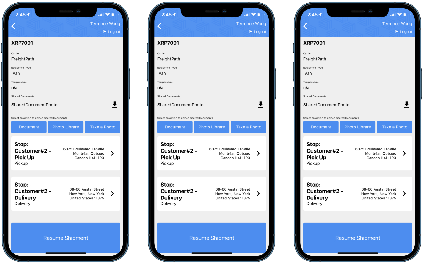 Mobile document sharing + various usability improvements