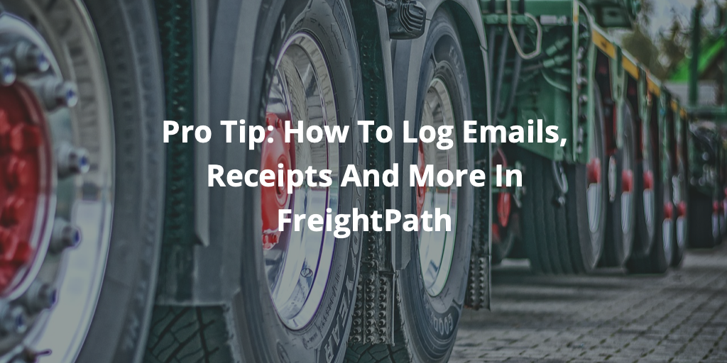 Pro tip - using shared documents to log emails, receipts and more