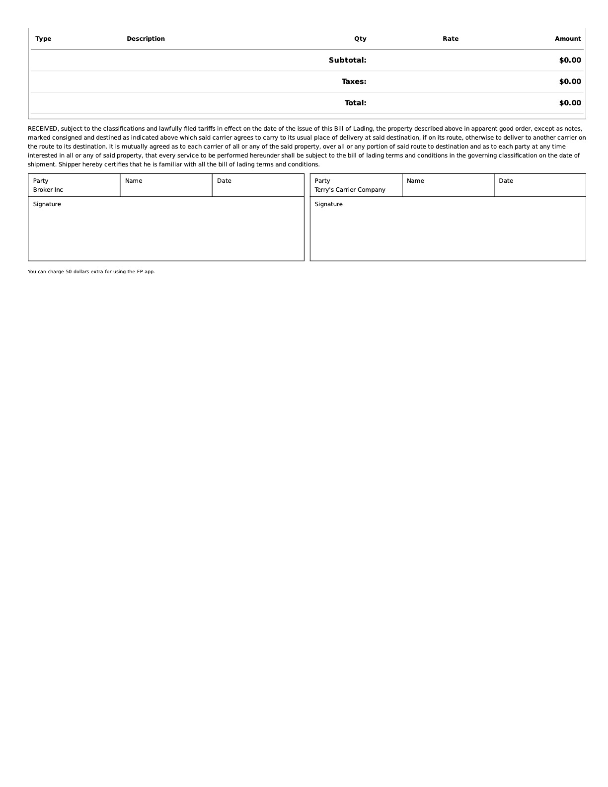 FreightPath TMS - Rate Confirmation paperwork automation