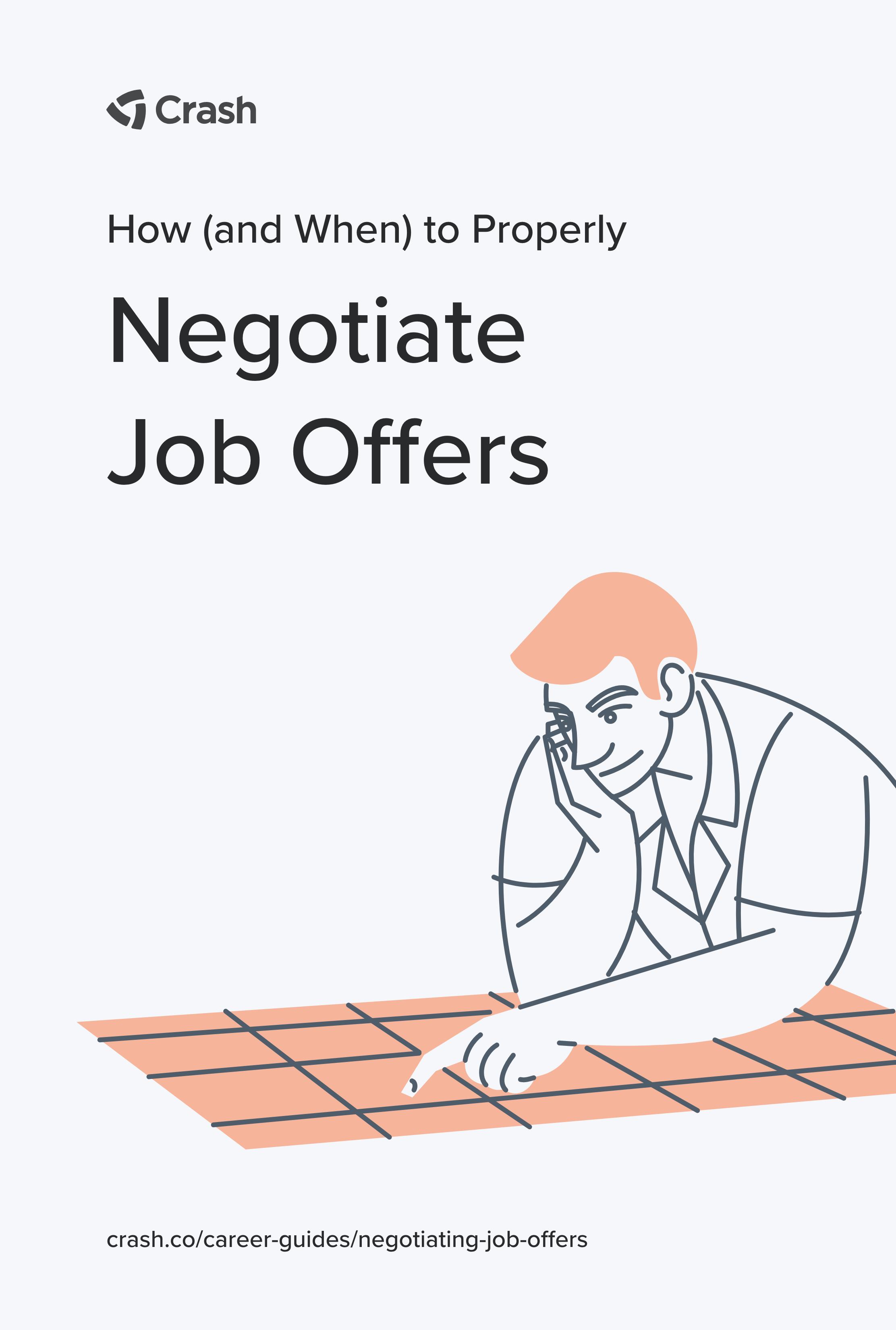 crash guide negotiating job offers