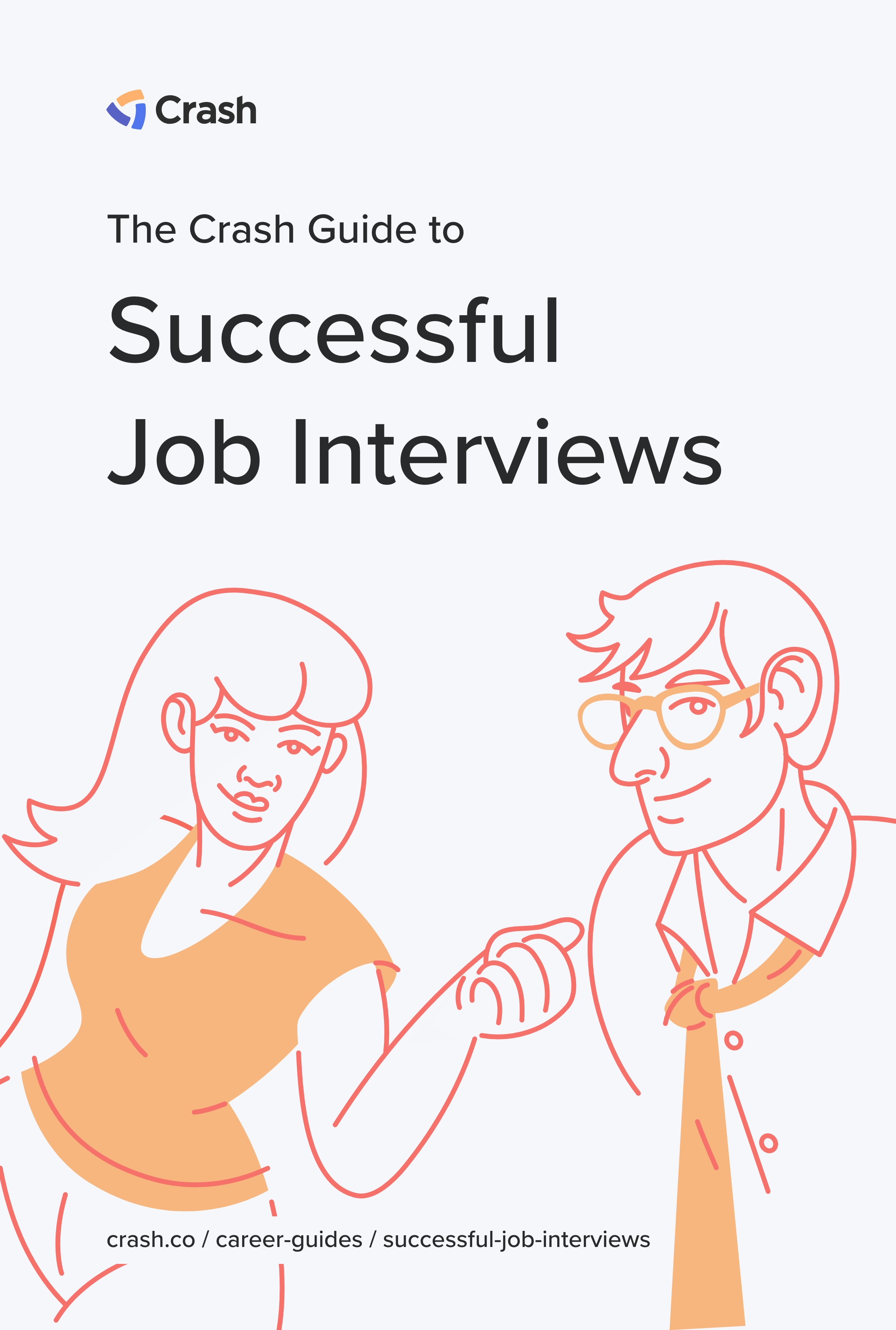 job interview preparation crash career guide cover image