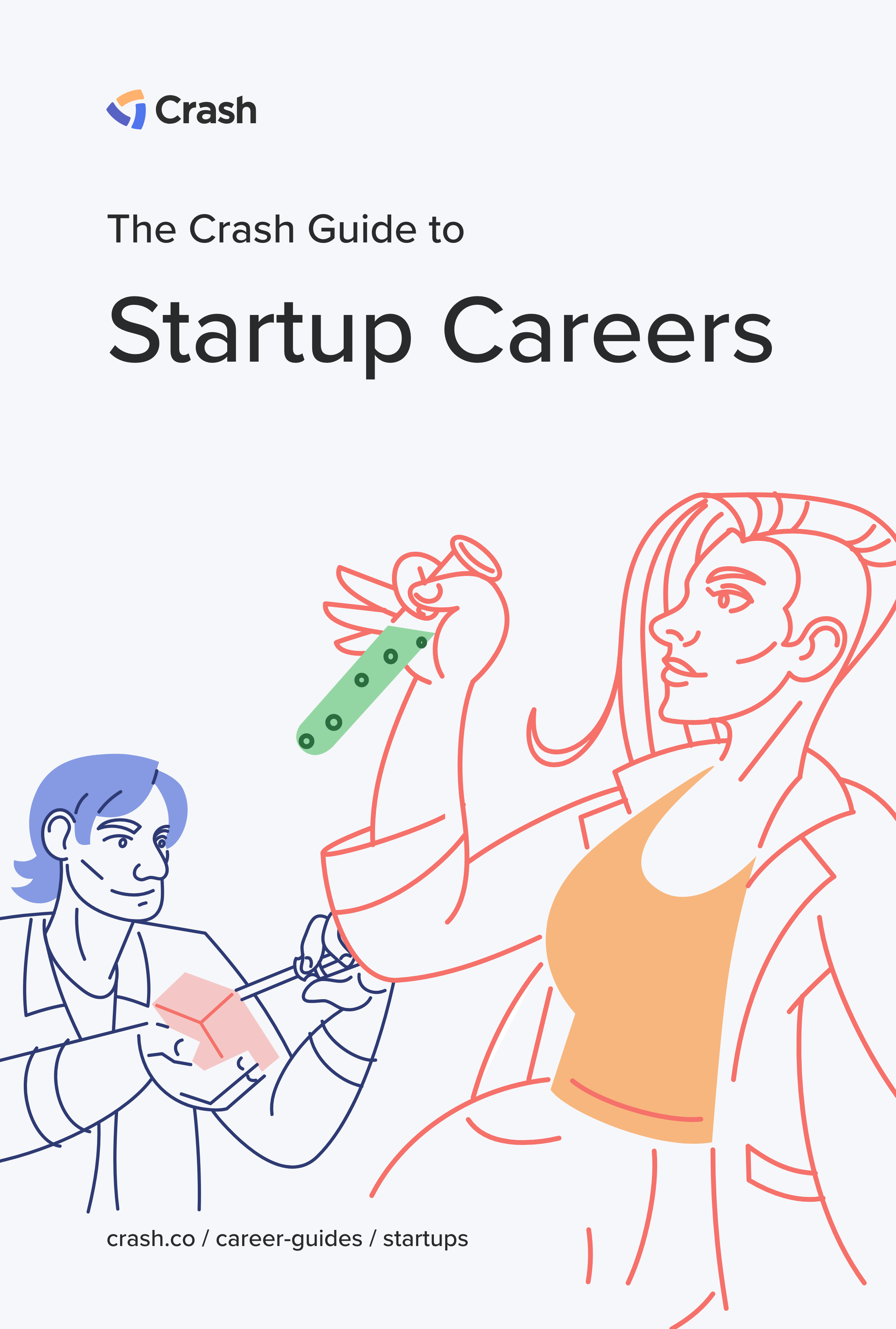 startup careers crash career guide cover image